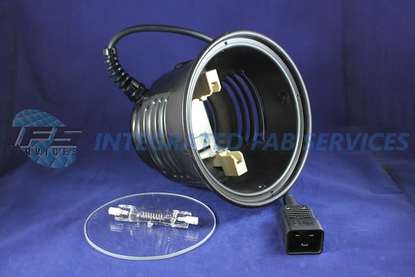 assy heat lamp w o spacer