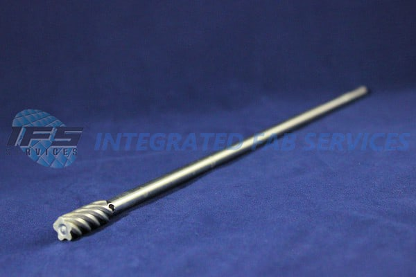 lead screw finger spindle