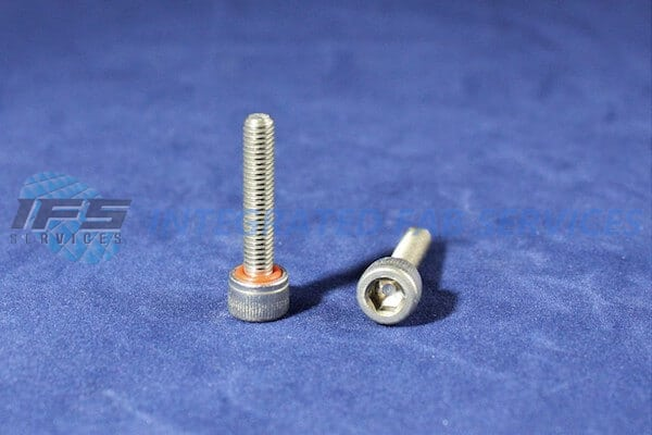"Screw, SHCS, Stainless, 10-32 x 1"" O-ring Lrg, Head"