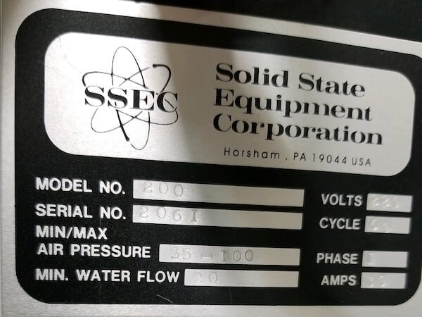 ssec solid state equipment corporation